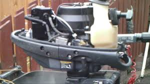 yamaha 4hp outboard. yamaha 4hp fourstroke outboard started for first time in 6 years - youtube a