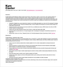 Creative Fashion Designer Resume PDF Free Downlaod