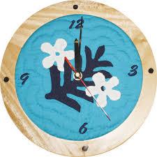 Home Suite Home | Waikiki magazine & Round clock $129.99, Moana Quilts Adamdwight.com