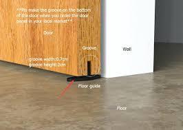 barnwood door closet hard sliding