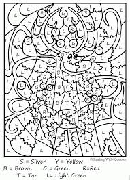 An updated collection of coloring pages for adults. Online Color By Number Coloring Home