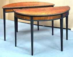 half round dining tables image of half round console table picture dining tables ikea adelaide