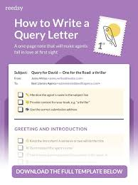 Query Letter Format How To Write A Query Letter In 7 Steps