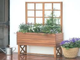 garden planters with trellis living planter treasures hummingbird feed garden treasures