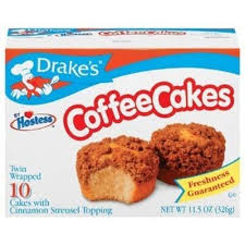 Littel debbie apple streusel coffee cake (1 serving) calories: Drakes Drake S By Hostess 10 Ct Coffee Cakes With Cinnamon Streusel Topping 11 5 Oz Pack Of 6 Reviews 2021