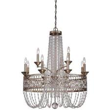 lucero 15 light floine silver chandelier