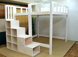 diy full size loft bed full size loft bed with stairs plans home improvement full size