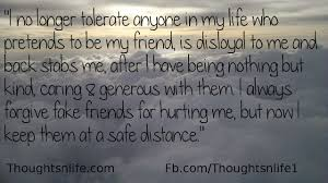 I Always Forgive Fake Friends For Hurting Me