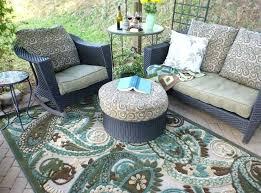 round outdoor patio rugs rug medium size of best