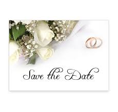How To Make A Save The Date Card Wedding Bands And Flowers Wedding Save The Date Card