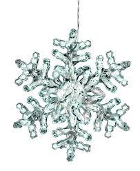 Kurt Adler Christmas Decoration Snowflake Light Holiday
