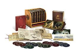 warner bros is releasing an 800 boxset collection of the combined lord of the rings and hobbit trilogies in their extended blu ray cuts