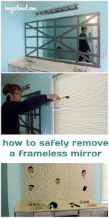 Frameless Mirror For Bathroom Best 25 Frameless Mirror Ideas On Pinterest Interior Frameless