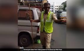 Sanitation Worker Job Description Punes Sanitation Worker Blends Singing And Cleaning To