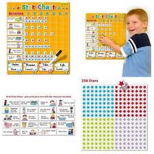 Magnetic Progress Star Chart Wall Kids Children Reward