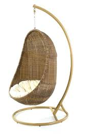wicker swing chair outdoor wicker basket swing chair with stand