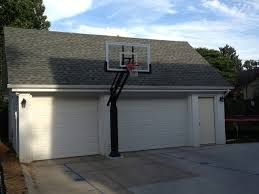 pro dunk hoops. Jay S\u0027s Pro Dunk Gold Basketball System On A 20x25 In Omaha, NE Traditional- Hoops