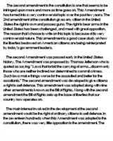 second amendment essays and papers helpme  second amendment essay online dissertation help juristische