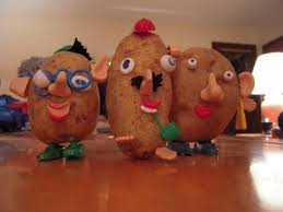 real mr potato head. Beautiful Potato These Are Built From A Pre1955 Mr Potato Head Set As It Came Out In 1952  And The Box Is Identical To This One Perhaps My Friend Denise Has An Original  Intended Real Mr