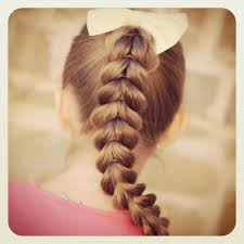 Easy Hair Style For Girl plus this pullthrough braid is so easy even a daddy can do it 1303 by wearticles.com