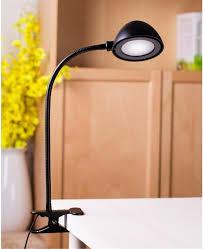 modern industrial style table lamps for bedroom bedside folding desk lamp clip dimmer led light clamp