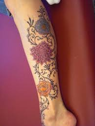 The Most Beautiful Tattoo Designs On Leg For Girls Yusrablogcom