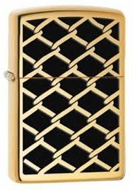 Широкая <b>зажигалка Zippo Fence Design</b> 28675