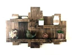rustic wood wall shelves wood shelves for walls rustic wooden pallet shelf wooden wall shelf kitchen