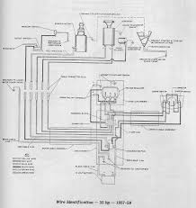 evinrude hp junction box page iboats boating forums click image for larger version 1957 1959 35hp wiring generator small