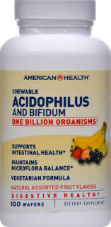 American Health Chewable Acidophilus And Bifidum, 100 ... - Kroger