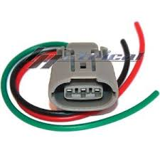 alternator repair plug harness 3 wire pin connector for nissan image is loading alternator repair plug harness 3 wire pin connector