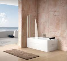 bathtub shower screen 8mm glass double sail bath screen