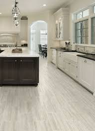 durable and comfortable sheet vinyl for a kitchen