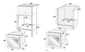 built in oven sizes. Exellent Sizes DimensionCutOut And Built In Oven Sizes E