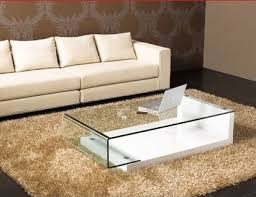 Impressive on White Glass Coffee Table 10 Contemporary Glass Coffee
