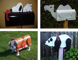 Decorative Mail Boxes Decorative Mailbox Ideas outdoortheme 32