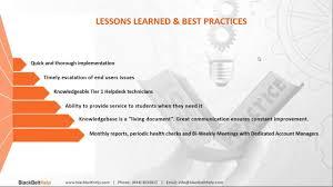 webinar recording best practice tips for after hours help desk support success