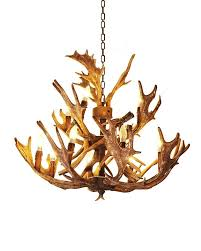 delightful faux crystal chandelier whitetail deer antler chandelier home design ideas faux picture andromedo