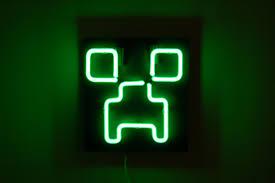 Light Up Creepers Neon Creeper Lights Up The Night Make