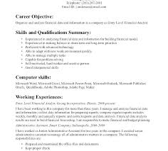 General Position Resume Objective Examples Of Career Objectives On
