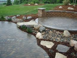 building a raised stone patio cost to build raised stone patio photo concept