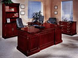 keswick left executive l desk english cherry 7990 58 fs dmi cherry office furniture