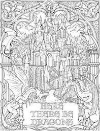 There Be Dragons Dragon Fantasy Myth Mythical Mystical Legend