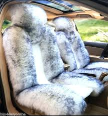 sheepskin car seat covers melbourne source real white with tip long wool fit ca