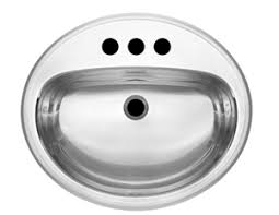 stainless steel vanity sink. Picture Of Kindred Single Bowl DropIn Intended Stainless Steel Vanity Sink