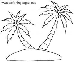 Palmier 38 Nature Coloriages Imprimer