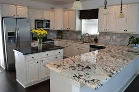 typhoon ice laminate with black cabinet countertop hampton bay