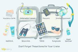 Cruise Packing List How To Pack For Your Cruise Vacation