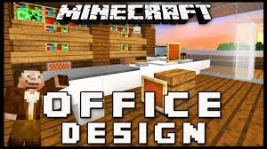 minecraft office ideas. Minecraft: How To Make Furniture For An Office (Modern House Build Ep.. Minecraft Ideas I