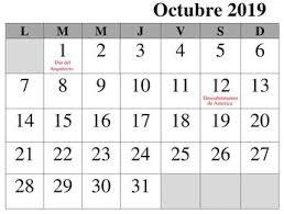 Julio Gratis Calendario 2019 Con Festiv